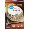 Gạo Lứt Ăn Liền Great Value Instant Brown Rice Natural Whole Grain (794g)